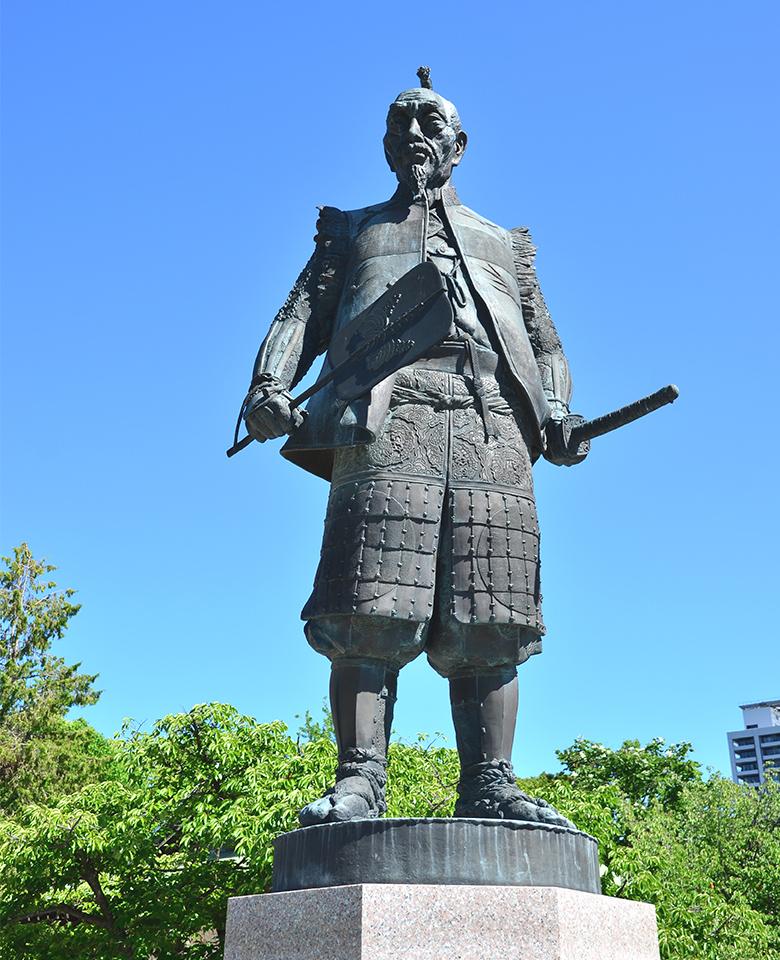豊臣秀吉公像